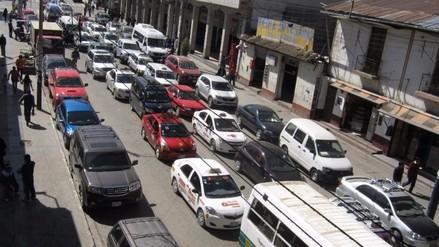 Huancayo: transportistas no quieren que Paseo La Breña sea de dos vías