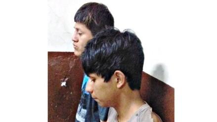 Trujillo: jóvenes son arrestados tras asaltar a pareja