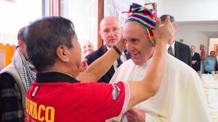 Peruano que dio chullo al papa: Se sorprendió y me dijo gracias