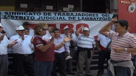 33 mil expedientes paralizados en primer día de paro de trabajadores judiciales