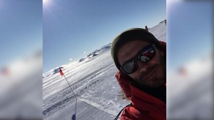 David Beckham filma documental en la Antártida