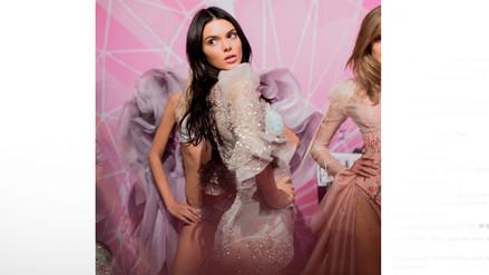 Kendall Jenner: su detrás de cámaras en el VSFashion Show