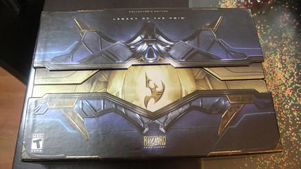 Starcraft II: Legacy of the Void en su edición coleccionista