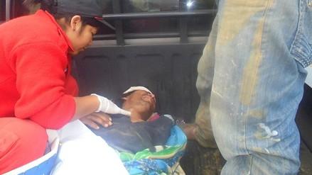 Huaral: rescatan a pescador que cayó a un acantilado de 35 metros