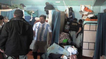 Huaral: realizan requisa en penal de Aucallama