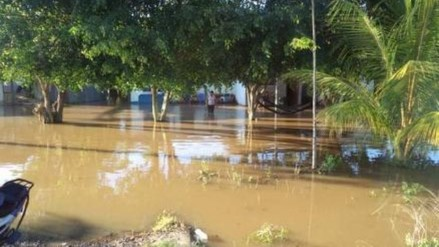 Oxapampa: 20 viviendas quedaron inundadas tras la presencia de fuertes lluvias