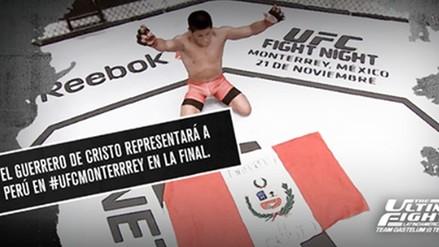 UFC: peruano Enrique Barzola derrotó a César Arzamendia y pasó a la final del TUF