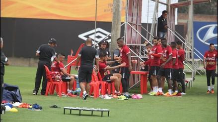Selección Peruana: André Carillo ausente en entrenamiento previo al partido con Paraguay