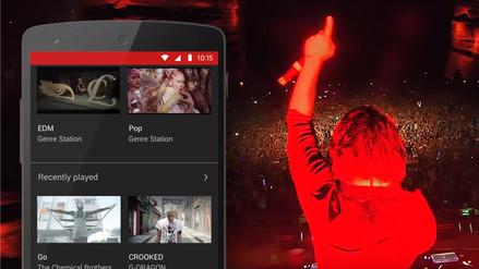 Google lanza su nueva aplicación YouTube Music