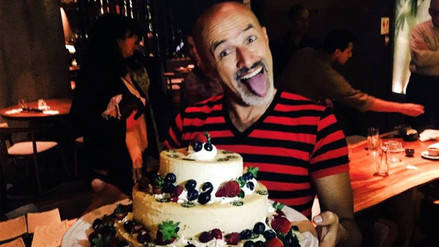 Carlos Alcántara celebra así su cumpleaños