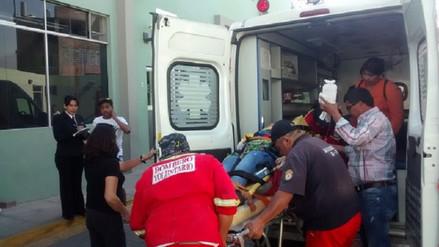 Dos heridos dejó explosión de un balón de gas