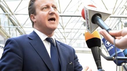 David Cameron expresa su