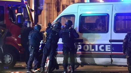 Autores de uno de los tiroteos en París gritaron