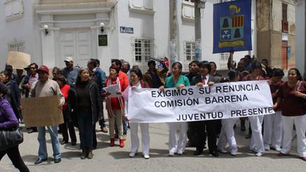 Tarma: población protesta contra comisión organizadora de la UNAAT