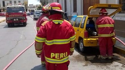 Fugas de gas alertó a bomberos de la ciudad de Chiclayo