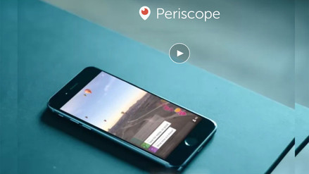Conoce qué es Periscope, la app que motivó la sanción a Daniel Abugattás
