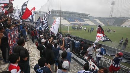 Universitario vs. Alianza Lima: las imágenes del emotivo Banderazo Blanquiazul