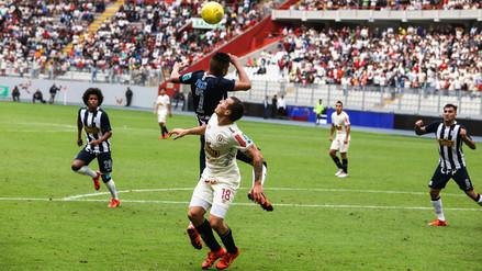 Universitario vs. Alianza Lima: postales del 1-1 en el Estadio Nacional