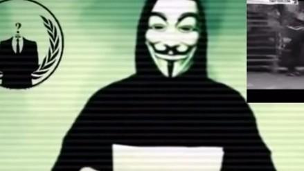 Anonymous amenaza al Estado Islámico tras atentados en París