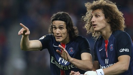 Eliminatorias Rusia 2018: David Luiz y Cavani no quieren volver a París