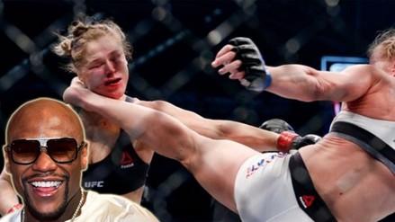 Ronda Rousey: Floyd Mayweather feliz por derrota ante Holly Holm en UFC
