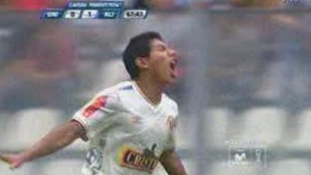 Universitario vs Alianza Lima: Edison Flores anotó golazo e hizo estallar de júbilo a Chale