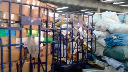 Así se ven los almacenes de Serpost en medio de huelga nacional