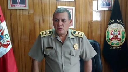 Chimbote: graban a patrullero en local de dudosa reputación