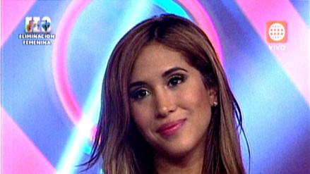 EEG: Melissa Paredes quedó fuera de la competencia