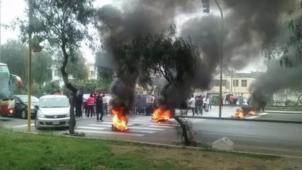 Chaclacayo: Protestas genera caos vehicular en Carretera Central