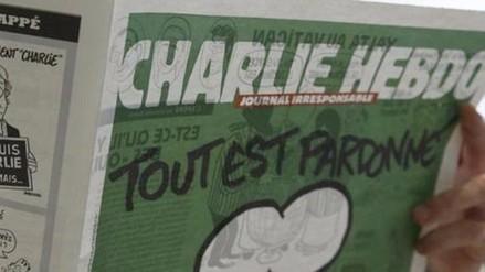 Charlie Hebdo publicó una caricatura de los atentados en París