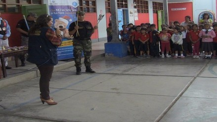 Más de 500 escolares participaron de charlas contra uso indebido de pirotécnicos