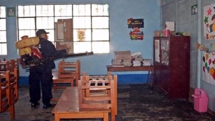 Denuncian intoxicación de escolares por labores de fumigación en colegios