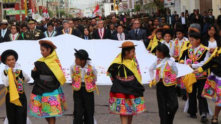 Huancayo celebra 151 años de creación política como provincia