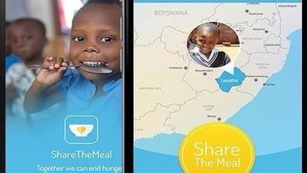 Share The Meal, la app para dar comida a los niños refugiados