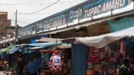 Juliaca: aseguran que ambulantes de mercado Túpac Amaru serán desalojados