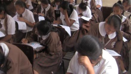 Evaluación censal busca mejorar rendimiento académico en escolares