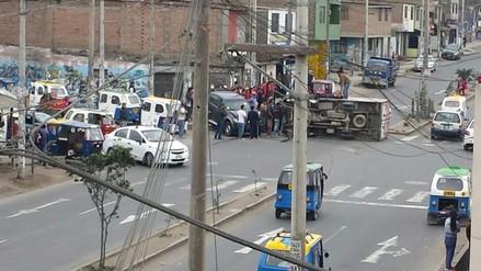VES: vecinos piden la instalación de un semáforo tras constantes choques