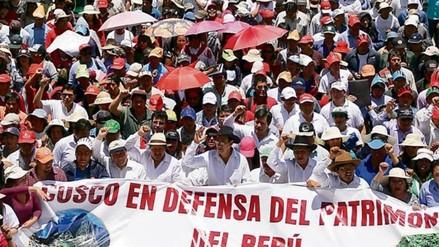 Pobladores convocan a una huelga indefinida en rechazo al decreto 1198