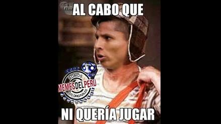 Facebook: Raúl Ruidíaz y sus memes tras no jugar en la Selección Peruana
