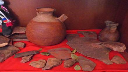 Recuperan piezas incas y preincas halladas en distrito de Ccorca