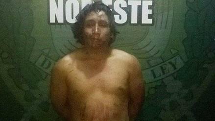Florencia de Mora: detienen sujeto que atacó a cuchillazos a su abuelo