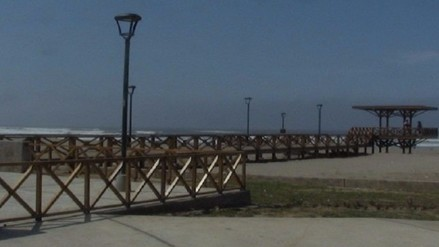 Pedirán ampliación de presupuesto para malecón de Puerto Eten