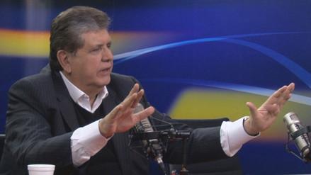 Alan García dice que esperará decisión colectiva del PPC sobre alianza