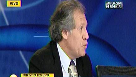 Almagro: OEA si ha tenido capacidad de respuesta respecto a Venezuela