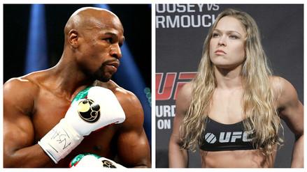 YouTube: Floyd Mayweather quiere entrenar a Ronda Rousey para que regrese a la UFC