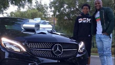 Instagram: Floyd Mayweather le regaló a su hijo un carro de 50 mil dólares