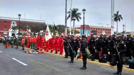 Trujillo: juramentan 250 brigadas de socorro ante el Fenómeno El Niño