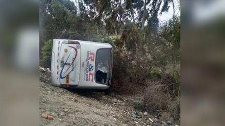 Accidente vehicular deja trece personas heridas en la Panamericana Sur