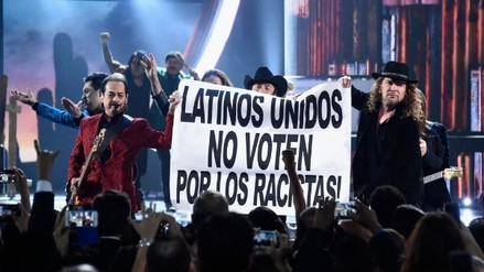 Latin Grammy: Maná reta nuevamente a Donald Trump